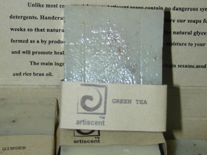 Hand Crafted Soap Green Tea