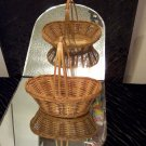 VINTAGE Bread Basket with handle *