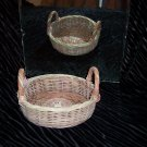 VINTAGE Casserole Basket with Handle *