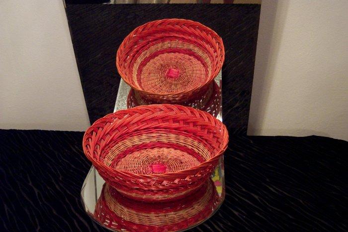 VINTAGE Red Basket *