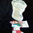Holiday Stocking with Gifts Cake Pan -- by Wilton -- 2105-2040 -- 1999 *