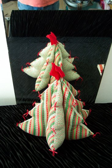Christmas Tree -- Stuffed -- Handcrafted