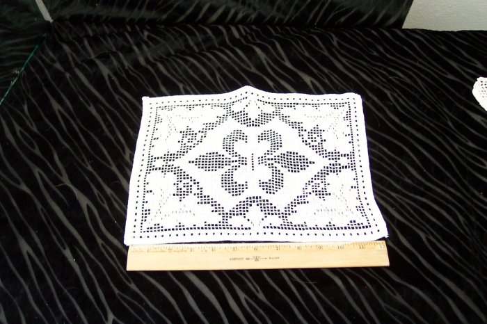 Large Square Doily *