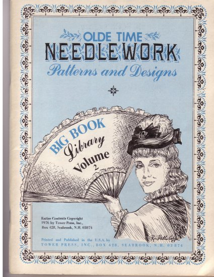 Olde Time Needlework Magazine Volume 2 of 2 1976*