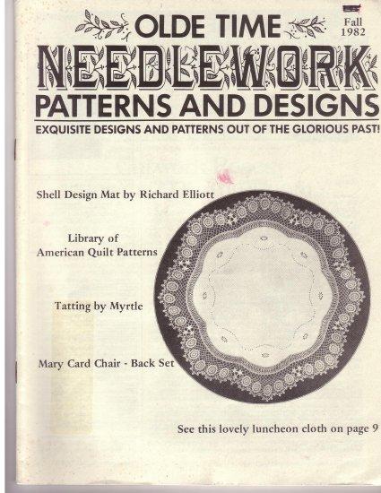 Olde Time Needlework Magazine Fall 1982 *