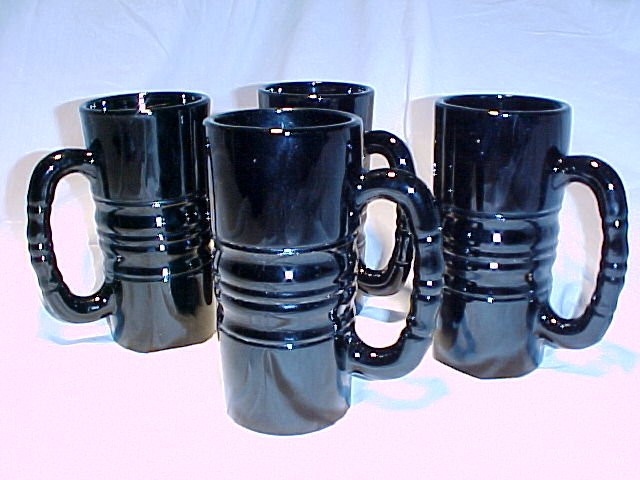 Tiara Glassware -- Kahluha Mugs set of 4