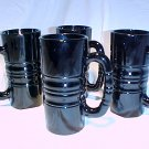 Tiara Glassware -- Kahluha Mugs set of 4