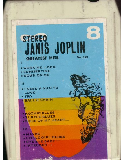 8 - Track -- JANIS JOPLIN -- Greatest Hits