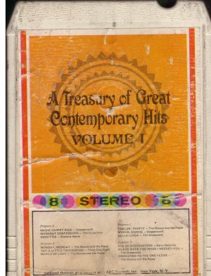 8 - Track -- A Treasury of Great Contempory HIts Volume 1