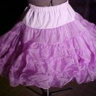 Square Dance Purple Petticoat -- very full -- Raver; Punk; and Harijuku *