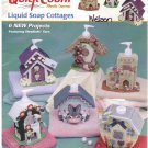 Liquid Soap Cottages -- Quick Count Plastic Canvas *