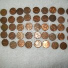 1995-D -- ROLL OF 50 PENNIES