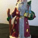 Old World Santa Votive Holder