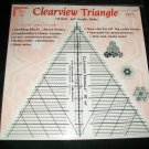 "10"" Clearview Triangle *"