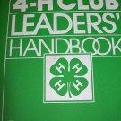 4-H Club Leaders Handbook 3 - Ring Binder *