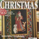 Better Homes and Gardens Cross-Stitch Christmas November 1999 *