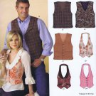 6839 New Look -- Unisex Vests *