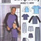 9499 Simplicity -- Night ware for men, Pajamas *