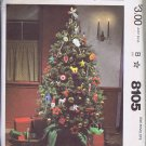 8105 McCall's -- Christmas Decorations *