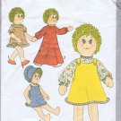 "8694 Simplicity -- 18"" Doll and Doll Clothes *"