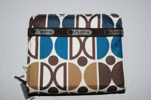 LeSPORTSAC Daisy FUSION 3804 circles clutch WALLET new