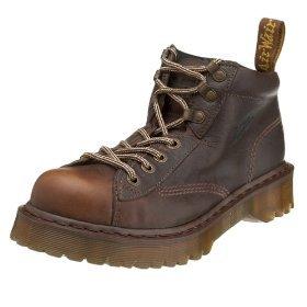 DR MARTENS docs martins kids BOOTS 8287 shoes BROWN size 3 4
