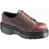 DR MARTENS doc martins 8651 5-eye BROWN Shoes Size 7 8 9