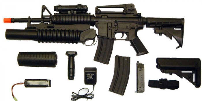 M4 Rifle w\ Grenade Launcher