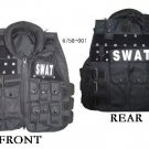 SWAT Modular black tactical vest