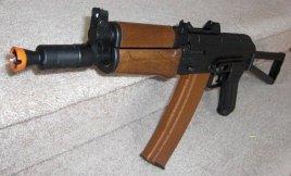 Dboys Full Metal AK74U (w\ Wood)