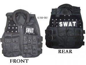 7 SWAT Modular black tactical vests