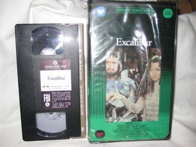 Excalibur VHSMovie Tape