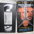 Highlander 2 The Quickening VHS Tape Lambert Madsen Connery