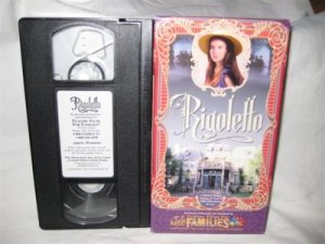 Rigoletto VHS Tape Movie Family