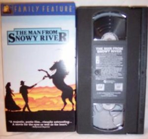 The Man From Snowy River VHS Tape Western Romance