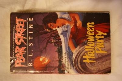 Halloween Party by R.L. Stine book Fear Street