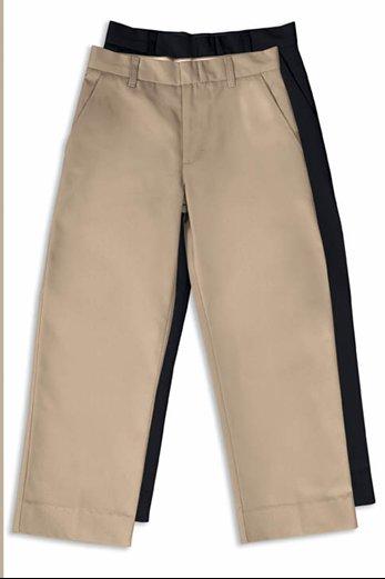 flat front pant size 14