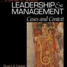 Public Health Leadership & Management