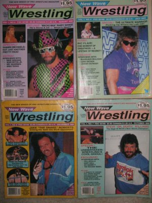 Wrestling Magazine Lot 1