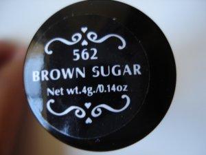 NYX Round Lipstick: Brown Sugar