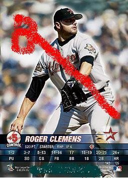 Roger Clemens Houston astros 2005.