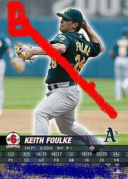 Keith Foulke 2004 base set.