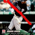 Shawn Green 2005 base set