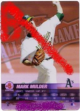 Mark Mulder 2004 pennant run(allstar game)
