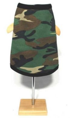 Camouflage Tank Top XLarge Dog Shirt