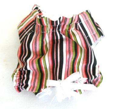 Good & Plenty Stripe Puppy Panties Dog Panties XSmall