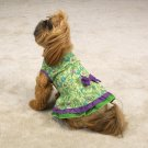 East Side Collection Tiered Ruffle Sundresses Dog Dress  XXSmall