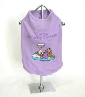 Home Security System Harness-T Shirt  Large Dog Shirt