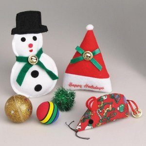 SALE Zanies Cat Toy Holiday Value Pack