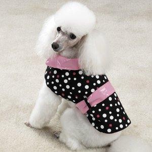 Sale East Side Collection Rain & Shine Dog Coats X Small